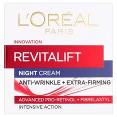 L'Oréal Revitalift Anti-Wrinkle & Firming Night / Day Cream 50ml Was £12 Now £5 @ Morrisons