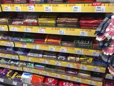 3 bars of chocolate for £1.20 @ one stop