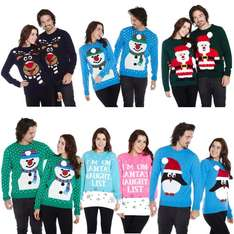 BOGOF on Christmas jumpers male & female designs add 2 to basket from £12.99 @ eBay sold by guaranteed4less