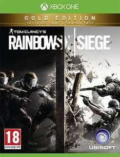 Rainbow Six Siege - Gold Edition (PS4/Xbone) - Game - £22.99