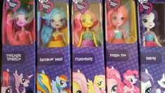 My little pony equestria dolls £2.99 homebargains