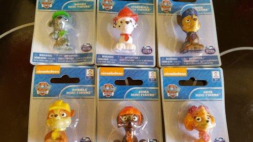 Paw patrol mini figures 89p homebargains instore