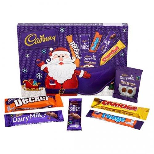FREE (or £1 profit @ Tesco) Cadbury's medium  selection box 180g @ Quidco Clicksnap