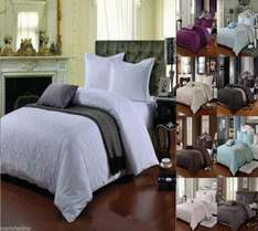 400 count 100% Egyptian cotton double duvet cover for £23.95 plus £5.95 delivery at Viceroy Bedding £29.90