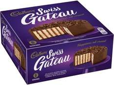 Cadbury Chocolate Swiss Gateau (340g) (Serves 4 to 6) ONLY £1.80 @ Sainsbury's (Larger stores only)