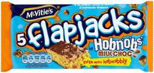 McVitie's Chocolate Hobnobs Flapjacks 5 per pack was £1.45 now 64p @ Morrisons