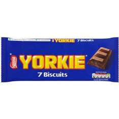 Nestle Yorkie Biscuits (7 Pack) ONLY 25p @ Poundstretcher (Instore)
