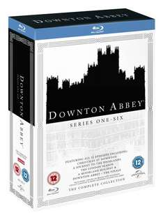 Downton Abbey Series 1-6 Complete Box Set (2016 Rlease) Blu-Ray £36 [Using Code] @ Zoom + Free DVD