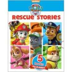 Paw Patrol Rescue Stories (busy books). £7 with C&C at Tesco Direct
