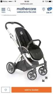 Babystyle Oyster pushchair Chasis in Mirror £98.99 @ Mothercare
