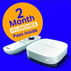 NOW TV Box + 2 month Sky Movies Pass @ Game £14.99