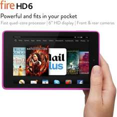 Fire Tablet HD6 (Kindle) 16GB £59.99 from £99.99 at Amazon