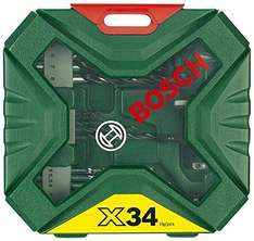 Bosch X-Line Classic Drill and Screwdriver Bit Set, 34 Pieces £6.99 @ Amazon Prime / £9.98 non prime