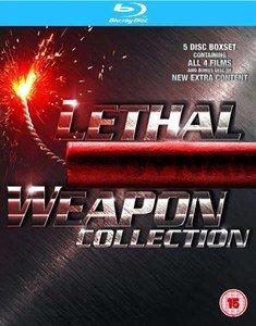 LETHAL WEAPON 1-4 BOX SET BLU-RAY £9.99 zavvi
