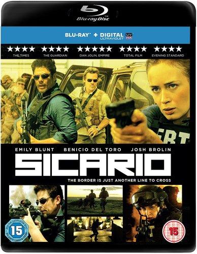 Sicario (Blu Ray) £5.59 (Prime) @ amazon