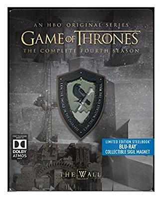 Game Of Thrones Season 4 Steelbook (Amazon)