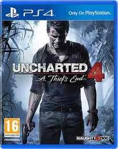 Uncharted 4 (PS4) £19.99/ special edition £24.99 preowned @ GAME