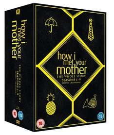 How I Met Your Mother - Complete Season 1-9 [DVD] [2014] £23.00 with Free Delivery @ Amazon
