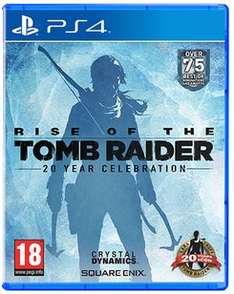 Buy Rise of the Tomb Raider: 20 Year Celebration on PlayStation 4 29.99 | Free UK Delivery | GAME | Now £3.30 Quidco Cashback