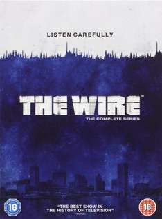 The Wire: Complete HBO Season 1-5 [DVD], £29.99 from amazon