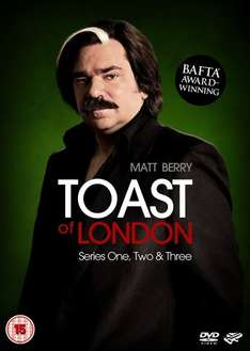 Toast Of London (Matt Berry) - Series 1-3 [DVD] £18.89 Prime or £20.88  non prime @ Amazon