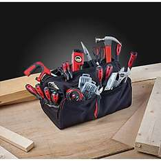 Forge Steel General Hand Tool Kit 55 Piece Set  £29.99 @ Screwfix