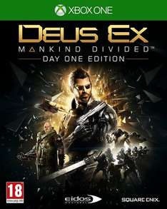 Deus Ex for Xbox One/PS4 £17.99 @ Amazon (Prime = FREE delivery or add £1.99)