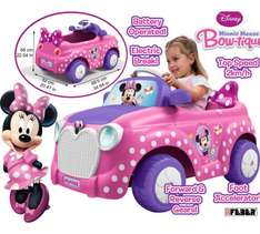 Minnie Mouse 6V Engine Ride On (was £149.99) Now £89.99 at Argos (links in 1st comment)