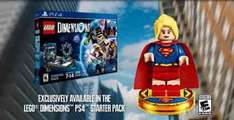 Argos , Lego dimensions starter pack with free super girl and free fun pack for £29.99