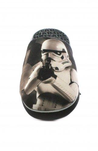 Star Wars Mens Black Storm Trooper Mule Slipper £4.99  Free Delivery at shoezone-outlet Ebay