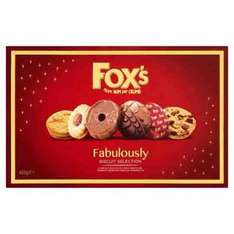 Fox's Fabulously Biscuits Selection Box - 600g - £2.99 @ Poundstretcher instore