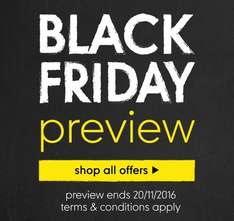 black Friday preview @ Mothercare