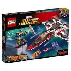 LEGO Avenjet Space Mission down to 36.09 and on 3 for 2 @ Tesco Direct