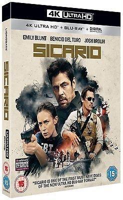 Sicario [4K Ultra HD] [2016] [Blu-ray] (inc. Blu Ray + Digital HD) @ Amazon - £15.99 (+ £1.99 non Prime)