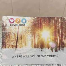 FREE £100 Love to Shop gift card (new and existing duel fuel) plus £77 cash back QUIDCO