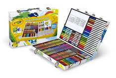 Crayola Inspirational Art Case for £14.99 @ Amazon (free delivery for Prime members or on orders over £20 / +£4.75 del non Prime) or @ Argos