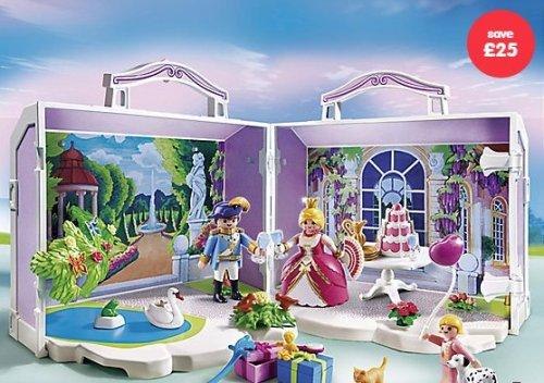 1/2 price Playmobil Take Along Princess Birthday Set - £24.99 @ ELC