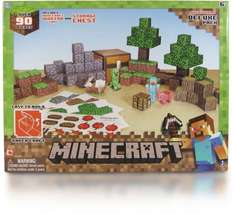 Minecraft Papercraft Overworld 90 Piece Set - £9.99 @ Argos Ebay