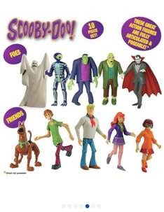 10 Scooby-Doo Figures for £9.99 at Argos!