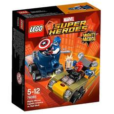 LEGO Super Heroes 76065: Mighty Micros: Captain America vs. Red Skull - Amazon - £4.22 (free delivery with Prime or add £1.99)