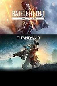 [Xbox One] Battlefield 1 and Titanfall 2 Deluxe Bundle - with Xbox Live Gold