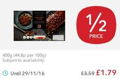 Co-op Irresistible Sticky Toffee Pudding (400g) was £3.59 now £1.79 @ Co-op Food Stores