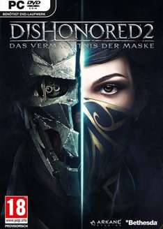 Dishonored 2 Steam SCDKey now £25.94