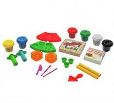 Chad Valley Dough Pizza and Cupcake Set 1/2 PRICE £4.99 WAS £9.99 ARGOS (FREE C+C)