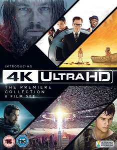 4K Ultra HD - 6 Film - The Premiere Collection @ Amazon for £39.99
