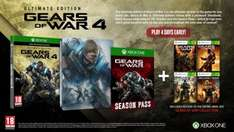 Gears Of War 4 Ultimate Edition at Game for £49.99 | £5 Cashback via Quidco