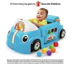 Fisher-Price Laugh & Learn Crawl Around Car - Blue was £79.99 now £39.99 @ argos