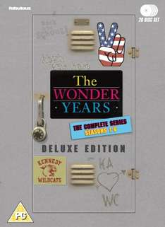 The Wonder Years - The Complete Series: 26 disc [DVD] - £63.99 at Amazon