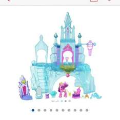 my little pony castle at argos for £17.49