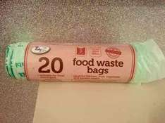 Biodegradable Recyclable food waste bags just 79p for 20 in Home Bargains